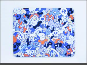 XMOUSE MAT-GORE_BLUE