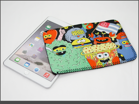 b-iPad  mini- Neoprene Sleeve -DUDESBANNER_b