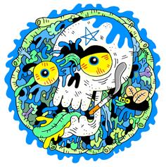 skull guts bluerr2