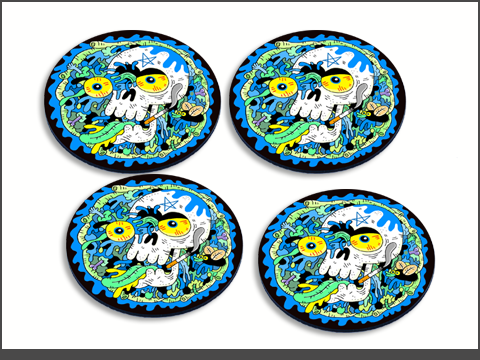 x-rnd-cb-coaster-4set-blue-skullguts