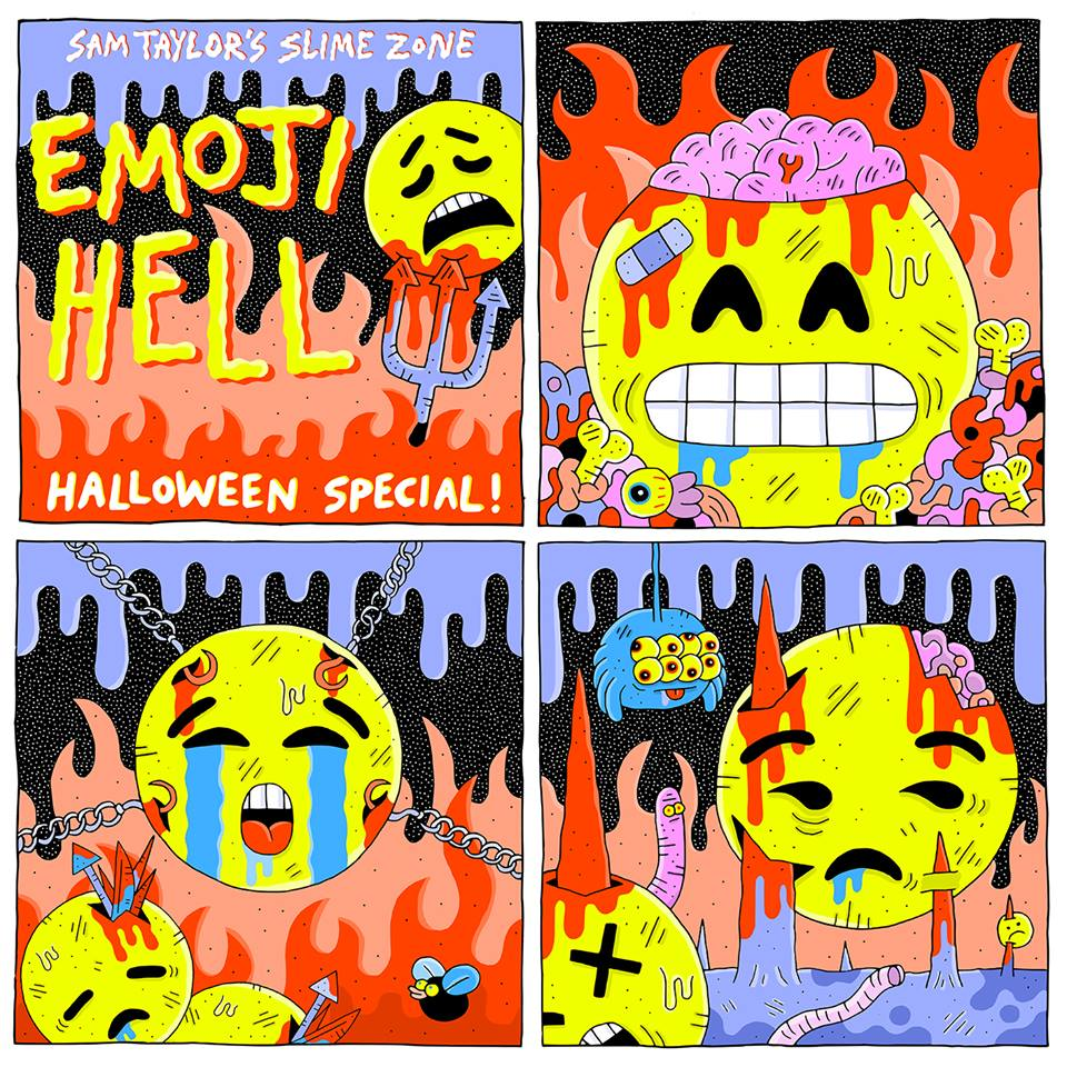 12193470_537409393089755_6850818683706968437_SAM STRIP FROM NME halloween 2015